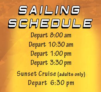 image: Captain Barry's Sailing Schedule
